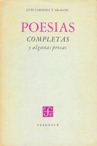 Poesías completas y algunas prosas
