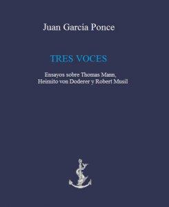 Tres voces. Ensayos sobre Thomas Mann, Heimito von Doderer y Robert Musil