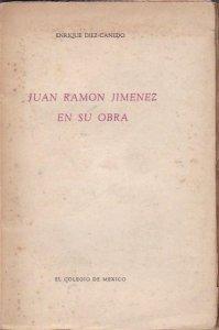Juan Ramón Jiménez en su obra