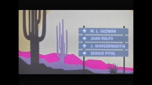 Ciclo: Novelas Mexicanas; Juan Rulfo