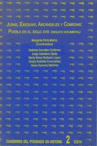 Juras, exequias, arcángeles y comedias : Puebla en el siglo XVIII : rescate documental