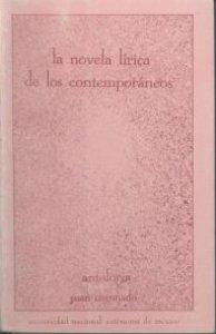 La novela lírica de los Contemporáneos. Antología