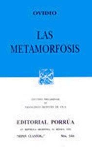 Las metamorfosis