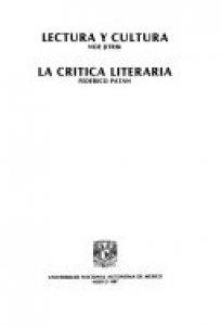 Lectura y cultura ; La crítica literaria