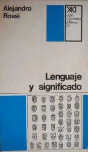 Lenguaje y significado