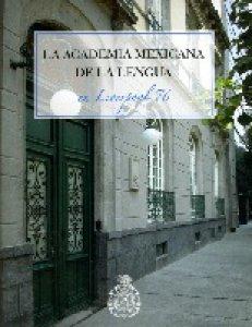 La Academia Mexicana de la Lengua en Liverpool 76