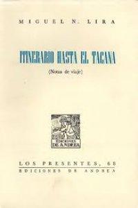 Itinerario hasta el Tacaná. Notas de viaje