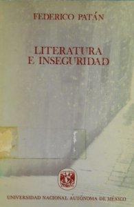 Literatura e inseguridad
