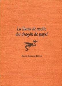 La llama de aceite del dragón de papel