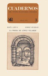 La prosa de López Velarde