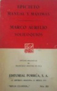 Manual y máximas ; Soliloquios