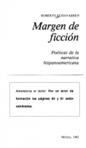 Margen de ficción : poética de la narrativa hispanoamericana
