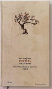 Los mejores poemas mexicanos del 2006