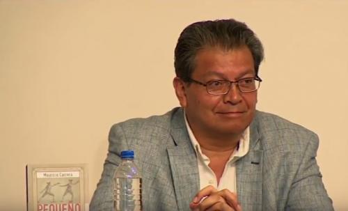 Mauricio Carrera, el escritor aventurero