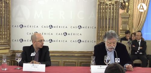 Presentación del libro <i>Memorial del engaño</i> de Jorge Volpi