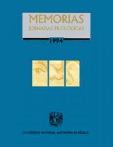 Memorias: Jornadas Filológicas 1994