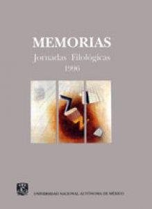 Memorias: Jornadas Filológicas 1996
