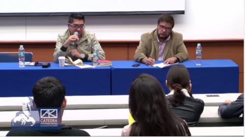 Mesa ''Escribir poesía en México'' con Javier de la Mora y Santiago Matías