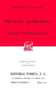 Michael Kohlhaas y otras narraciones