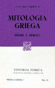 Mitología griega : dioses y héroes
