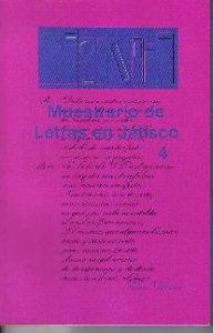 Muestrario de letras en Jalisco IV