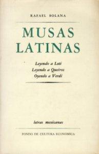Musas latinas. Leyendo a Loti. Leyendo a Queiroz. Oyendo a Verdi