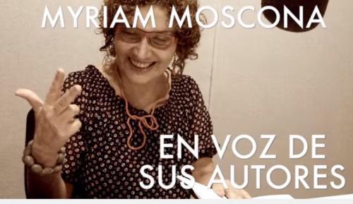 Myriam Moscona en Descarga Cultura.UNAM