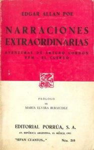 Narraciones extraordinarias ; Aventuras de Arturo Gordon Pym ; El cuervo