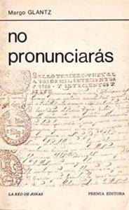 No pronunciarás