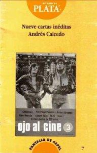 Nueve cartas inéditas Andrés Caicedo