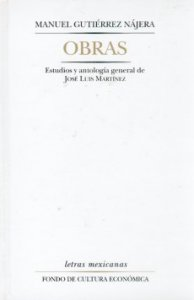Manuel Gutiérrez Nájera : obras