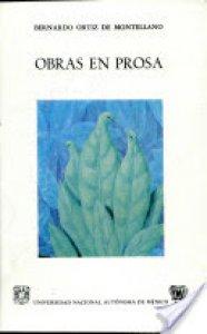 Obras en prosa