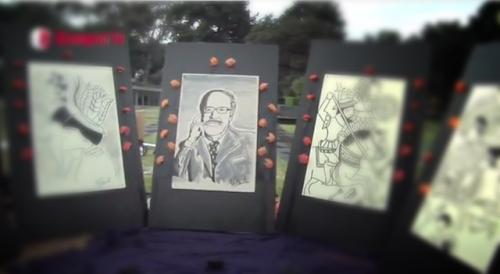 Homenaje a Fernando Benitez - Mega ofrenda UNAM