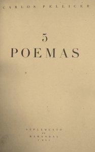 5 poemas