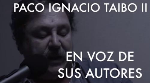 Paco Ignacio Taibo II en Descarga Cultura.UNAM