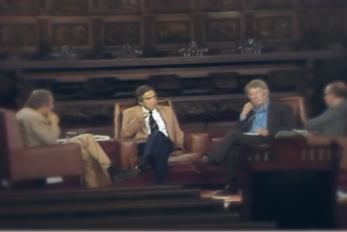 André de Vouchez, Octavio Paz, Seamus Heaney y Ramón Xirau