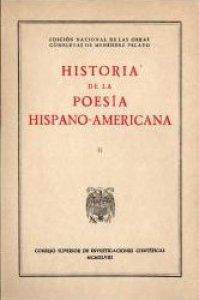 Historia de la poesía hispanoamericana