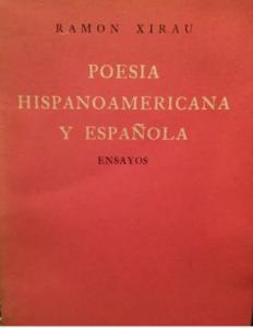 Poesía hispanoamericana y española : ensayos