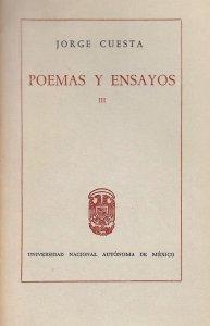 Poemas y ensayos , III