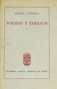 Poemas y ensayos , IV