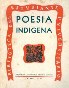 Poesía indígena de la altiplanicie