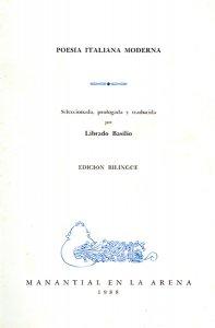 Poesía italiana moderna