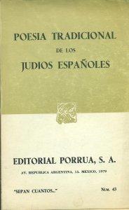 Poesía tradicional de los judíos españoles