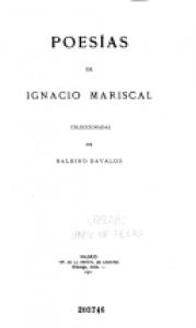 Poesía de Ignacio Mariscal