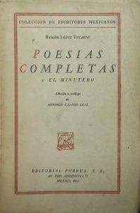 Poesías completas y El minutero