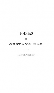 """Poesías : edición del """"siglo XIX"""""""