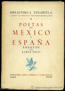 Poetas de México y España : ensayos de Ramón Xirau