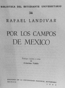 Por los campos de México