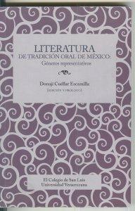 Literatura de tradición oral de México : géneros representativos