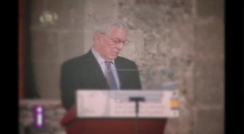 Premio Carlos Fuentes a Vargas Llosa